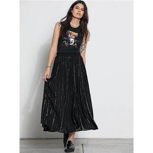 Volcom Stone Row Black  Hook It Up Skirt NWT